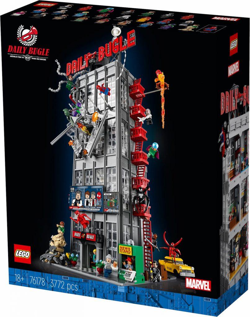 76178 box Lego Daily Bugle novità giugno 2021
