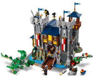 castello medievale novità Lego giugno 2021