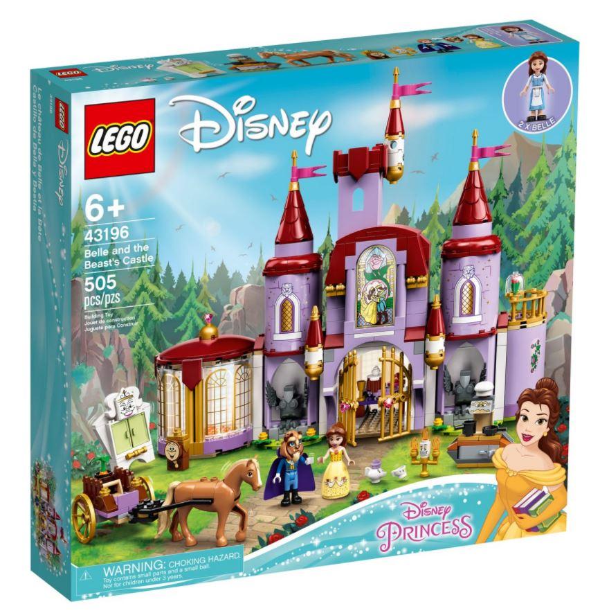 castello belle e la bestia novità lego giugno 2021