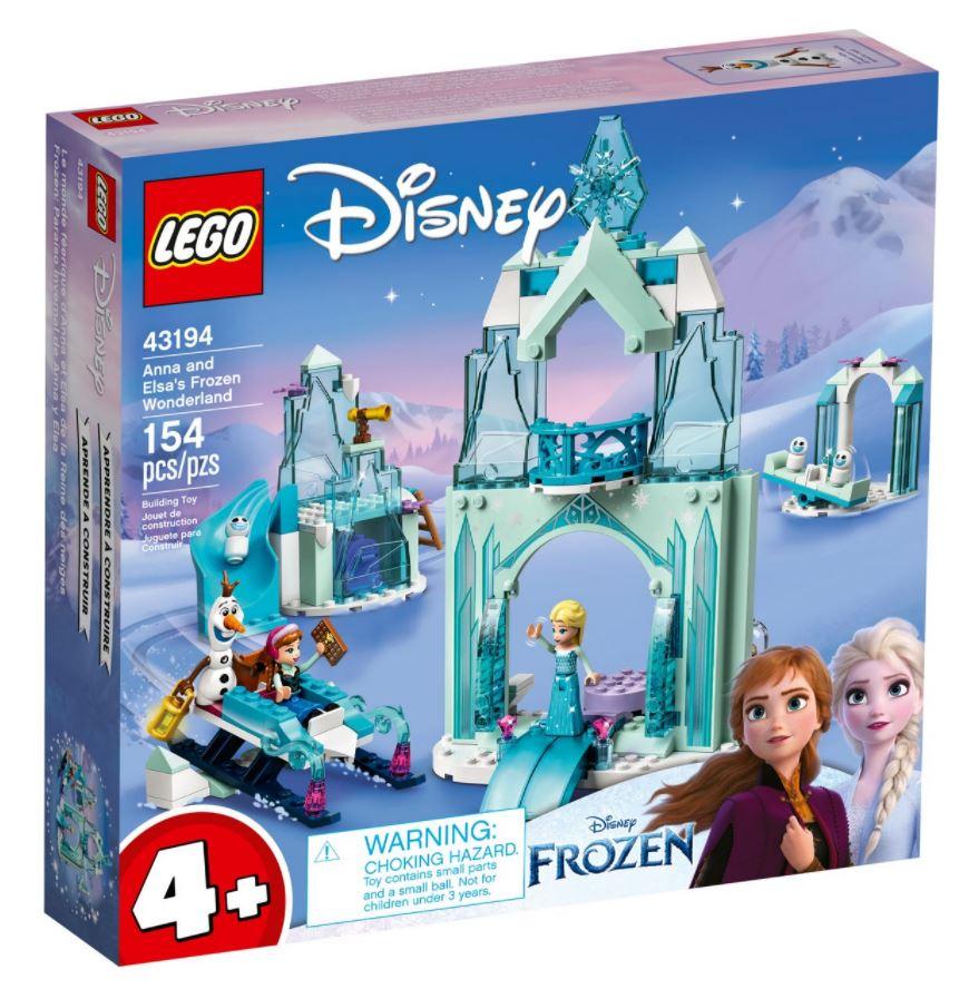 castello frozen novità lego giugno 2021
