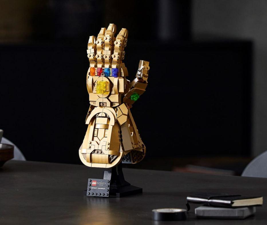 Lego Marvel Guanto infinito novità Giugno 2021