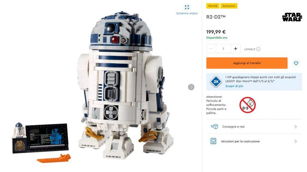 Lego Star Wars R2-D2 UCS Lego Shop