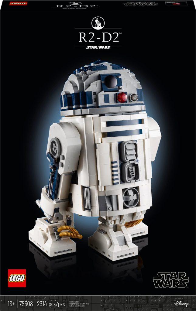 Lego Star Wars R2-D2 UCS scatola