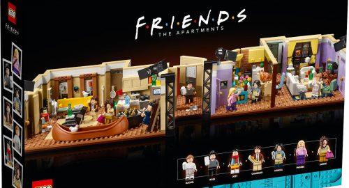 Annunciato il nuovo set Lego Gli appartamenti di Friends!