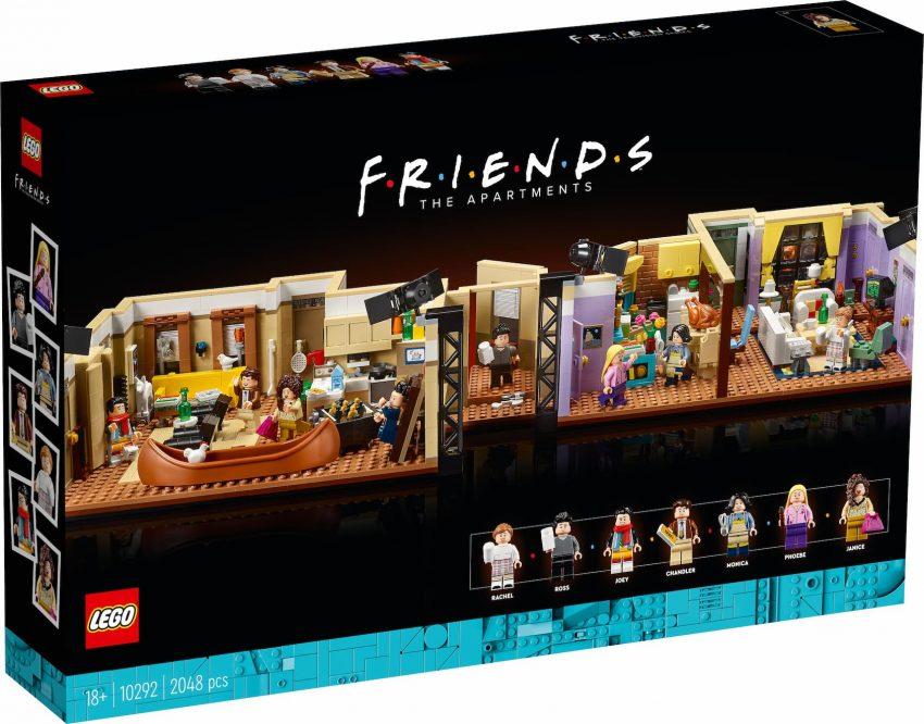 Nuovo set Lego Friends appartamenti box