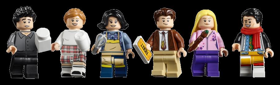 minifigure set Lego Friends appartamenti