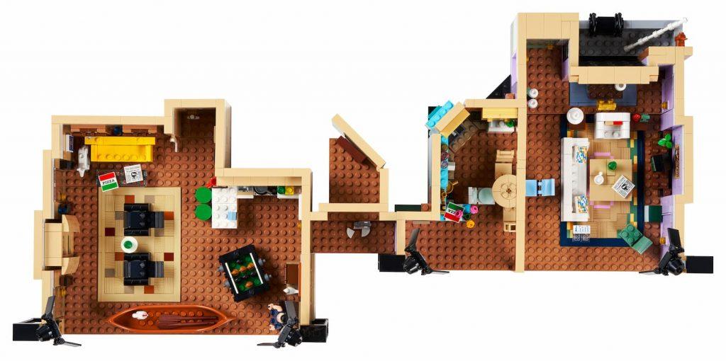 pianta appartamento Lego Friends