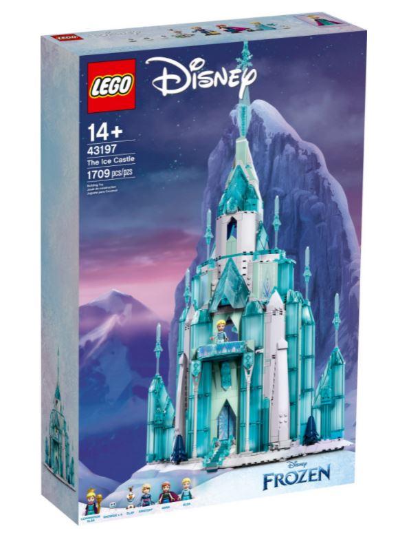 Castello di ghiaccio scatola novità Luglio 2021