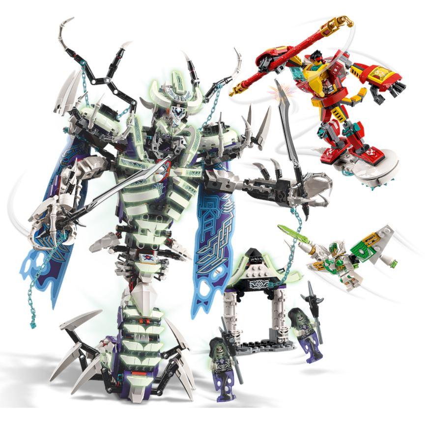 Lego Monkie Kid Bone Demon