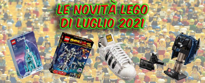 Novità Lego Luglio 2021