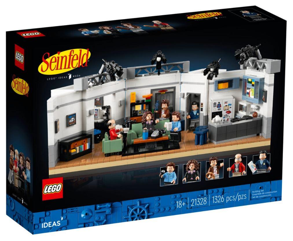 Lego Ideas Seinfeld - box