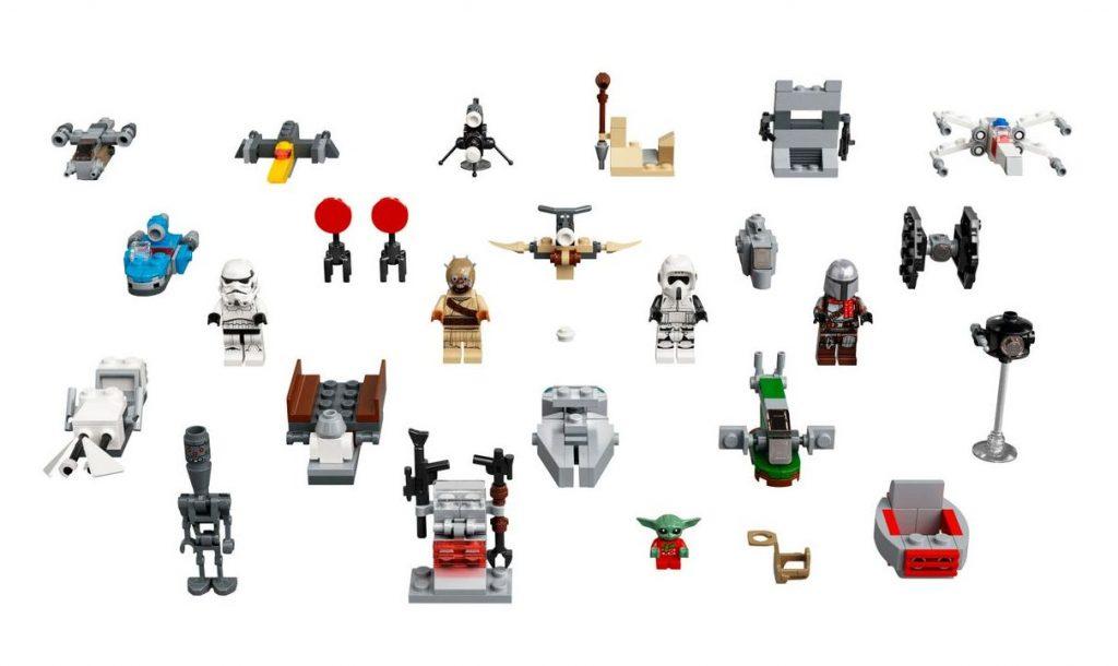 Calendario dell'Avvento LEGO Star Wars - sorprese