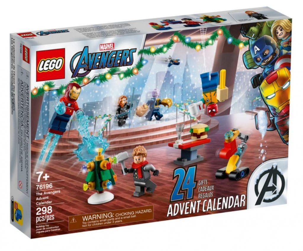 Calendario dell'Avvento The Avengers LEGO Marvel