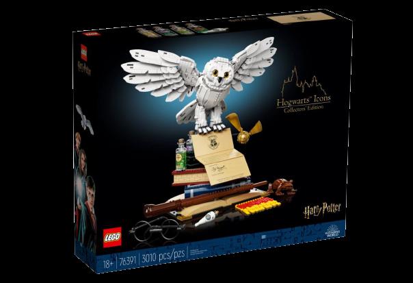 novità Lego Settembre 2021 - scatola Edizione collezionista Icone di Hogwarts