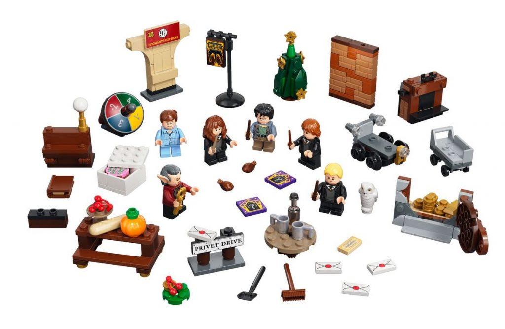 Le sorprese del Calendario Avvento Lego Harry Potter