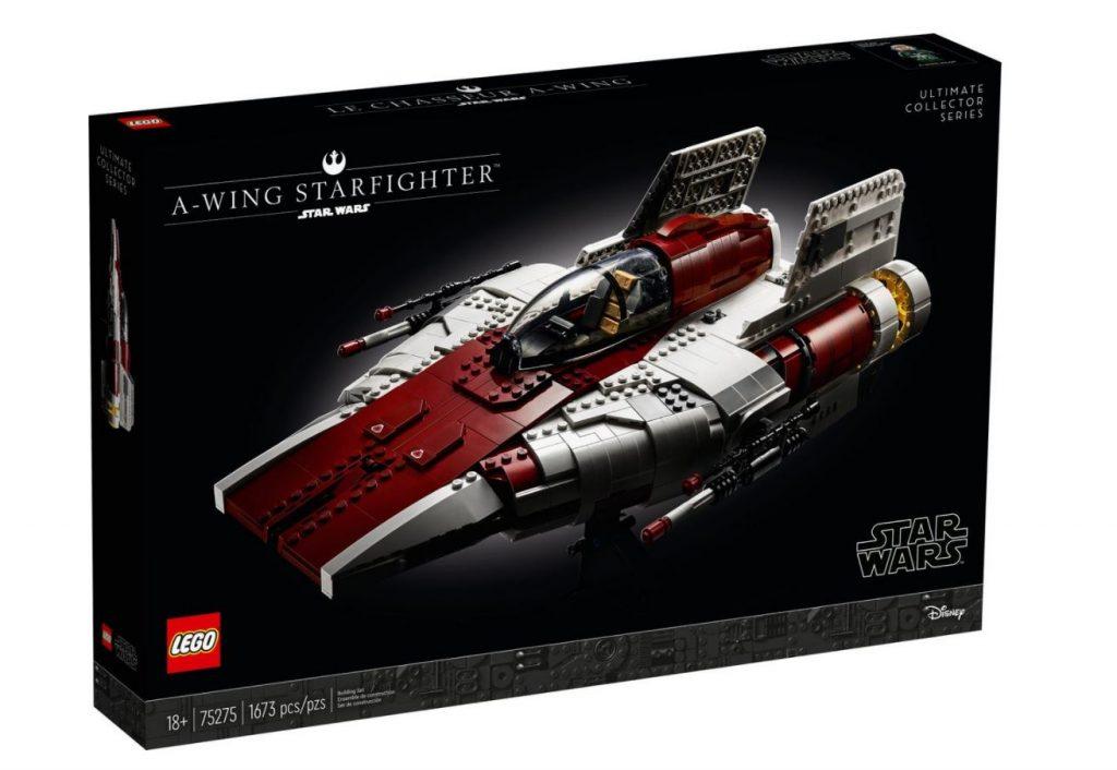 Lego Star Wars A-wing Starfighter UCS fuori produzione a fine 2021