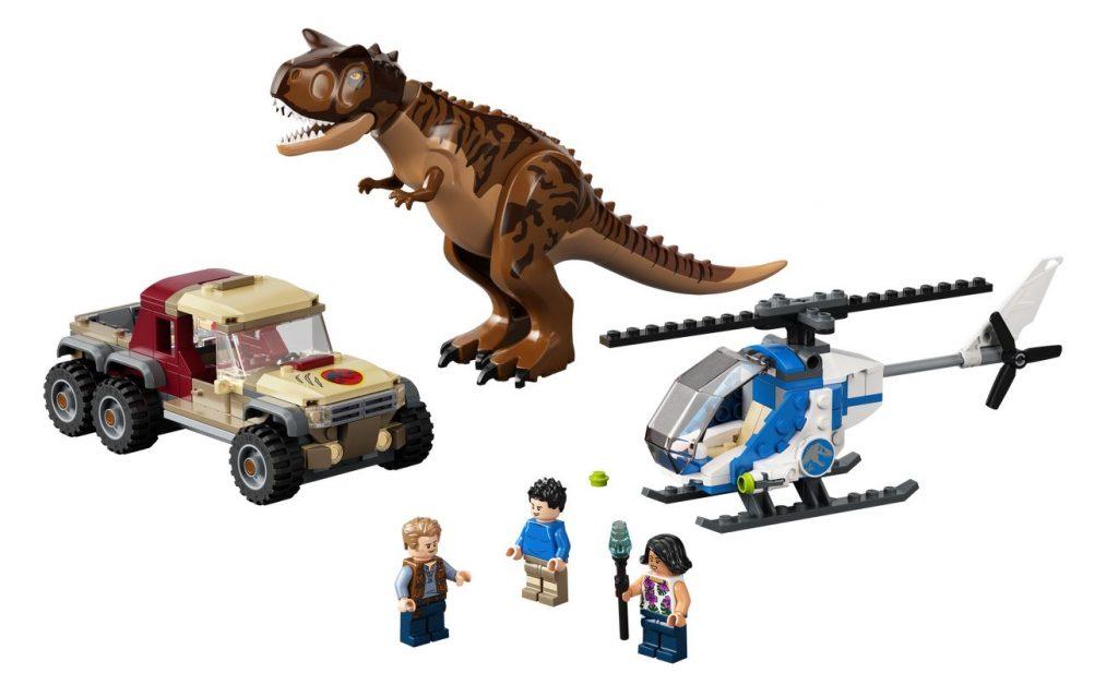 L'inseguimento del dinosauro Carnotaurus