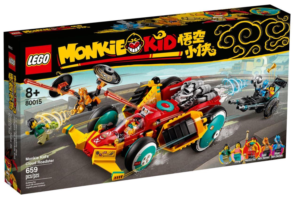 Super auto sportiva di Monkie Kid