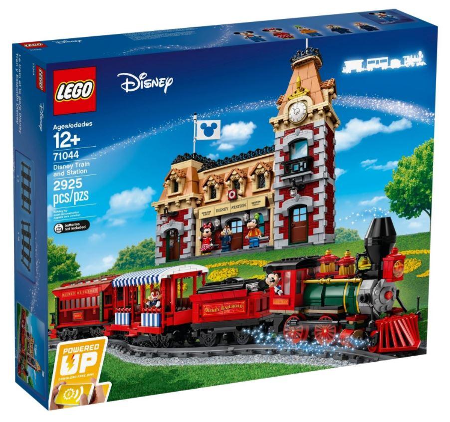 Lego Treno e Stazione Disney fuori produzione 2021