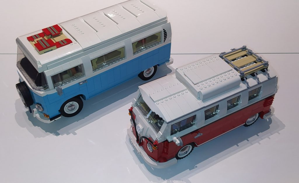 Differenze tra i due camper Lego Volkswagen