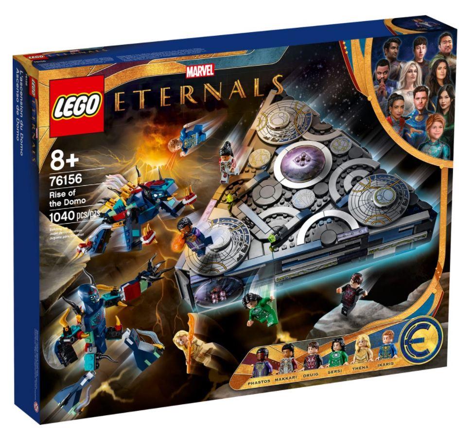LEGO Marvel L'ascesa di Domo novità Ottobre 2021