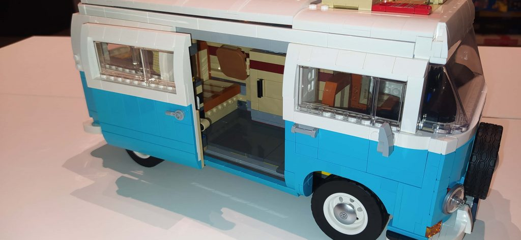 Lego Creator Camper van Volkswagen T2 porta laterale scorrevole