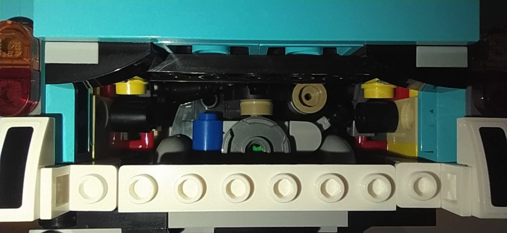Lego Creator Camper van Volkswagen T2 vano motore