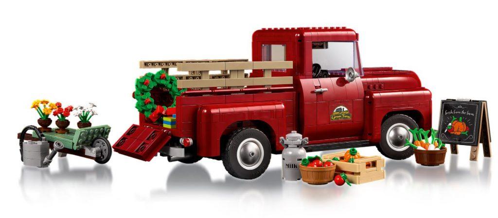 Lego Creator Expert Pickup con accessori