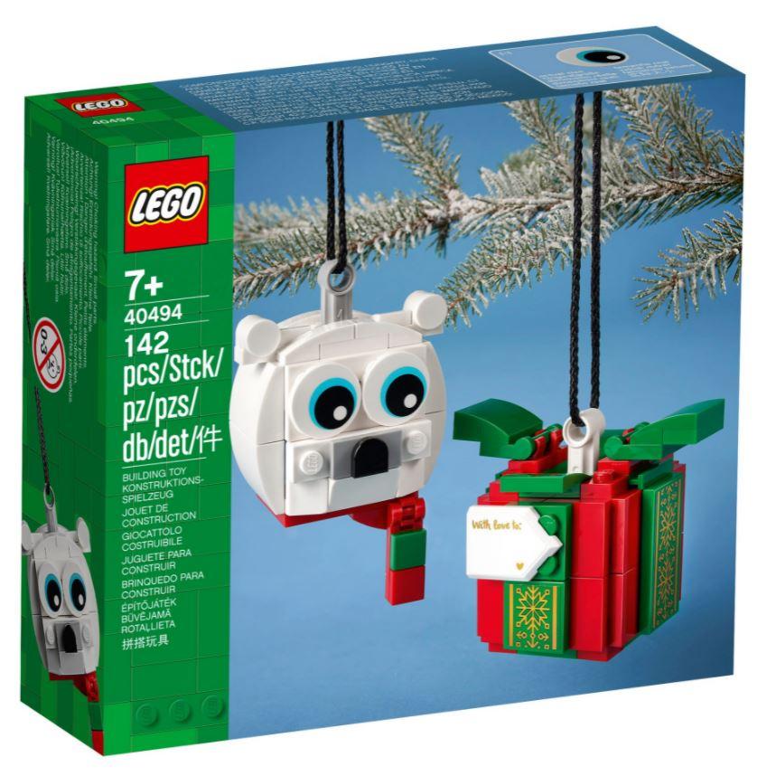 Orso Polare e scatola regalo