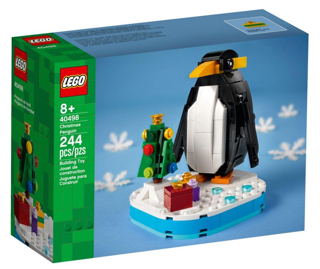 Pinguino di Natale