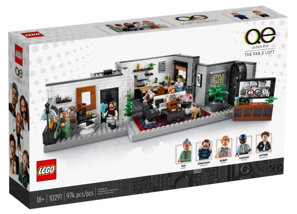 Queer Eye novità Lego Ottobre 2021