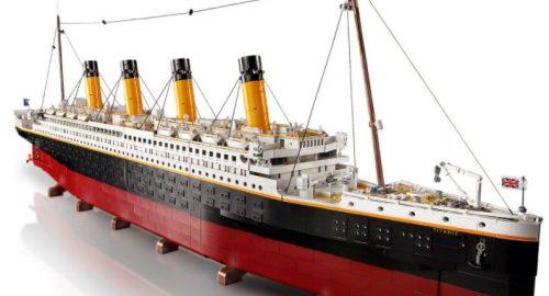 Lego Titanic disponibile dal 1 Novembre!